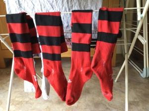 Just the four socks today...